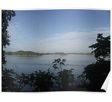 Lake scene  Poster