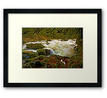 Fun On The South Santiam Framed Print