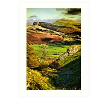 Lose Hill And Great Ridge Art Print