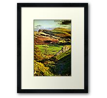 Lose Hill And Great Ridge Framed Print