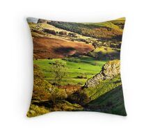 Lose Hill And Great Ridge Throw Pillow