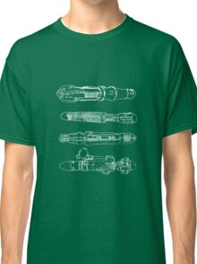 Screwdriver blueprints Classic T-Shirt