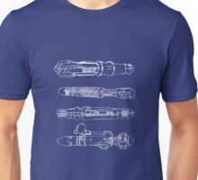 Screwdriver blueprints Unisex T-Shirt