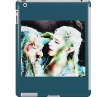 Gandalf and Galadriel iPad Case/Skin