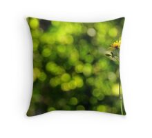 Québec - Alone in the garden. Throw Pillow