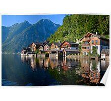 Alpine Lakefront Poster