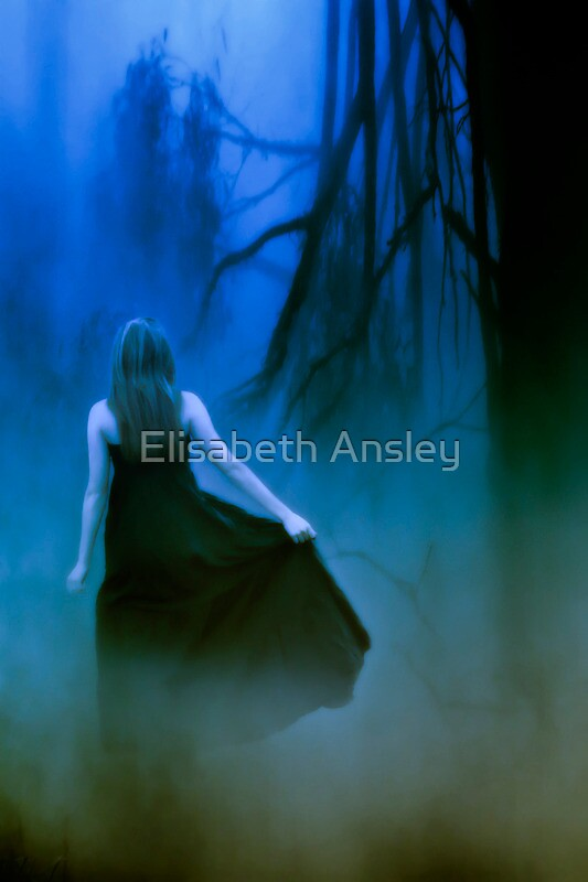 entering the dark unknown by Elisabeth Ansley