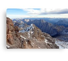 Mountain Wetterstein 2 Canvas Print