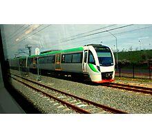 Passing trains Photographic Print