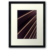 Spiral Lines : abstract Framed Print