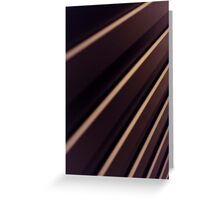 Spiral Lines : abstract Greeting Card