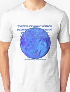 WolfMoon Poem T-Shirt