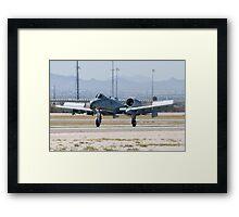 A-10A Thunderbolt II, WA AF 80-0184 Landing Framed Print
