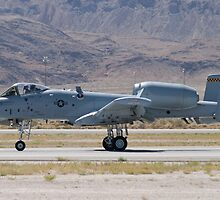 A-10A Thunderbolt II, WA AF 80-0184 Rolling by Henry Plumley