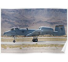 A-10A Thunderbolt II, WA AF 80-0184 Rolling Poster