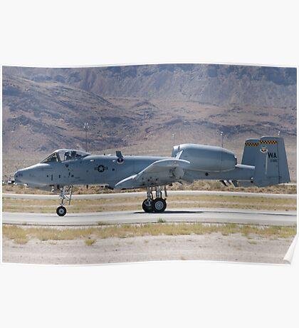 A-10A Thunderbolt II, WA AF 80-0184 Rolling Poster
