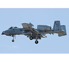 FT AF 79-0189 A-10 Thunderbolt II Approach Photographic Print
