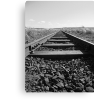 Railway Track @ Causeway Canvas Print