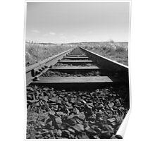 Railway Track @ Causeway Poster