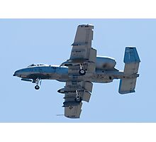 OT AF 80-0242 A-10 Thunderbolt II On Approach Photographic Print
