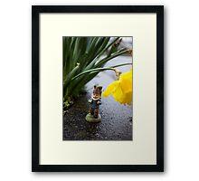 Raining Flowers Roy Framed Print