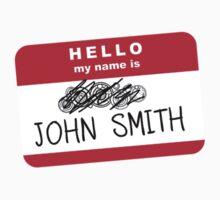 Hello my name is John Smith Kids Clothes