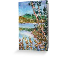 Landscape in the Northern Quebec Greeting Card