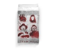 Team Hell Duvet Cover