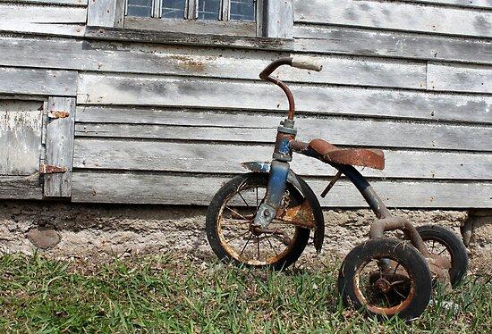 Rusty Trike by Starsania