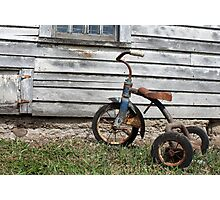 Rusty Trike Photographic Print