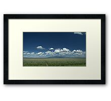 In the Shadow of Mt. Blanca Framed Print