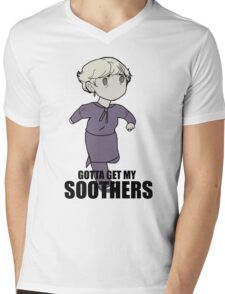 Gotta Get My SOOTHERS Mens V-Neck T-Shirt
