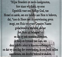 Die Gelofte 16 Desember 1838 - The Covenant  by Qnita
