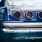 65 Impala Tail Light Detail  by Christopher Boscia