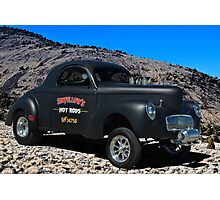 Sinfellows Hot Rods - 1940 Willys Pro Street Dragster Photographic Print