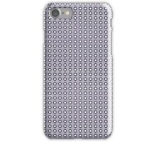 Purple and White Polka Dots iPhone Case/Skin