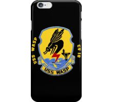 USS Wasp (CV/CVA/CVS-18) for Dark Colors iPhone Case/Skin