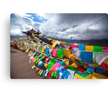 Prayer Flags Canvas Print