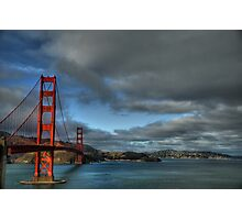 Golden Gate Bridge, HDR Photographic Print