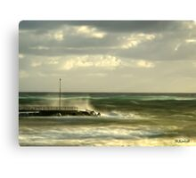 Morning Swell Canvas Print