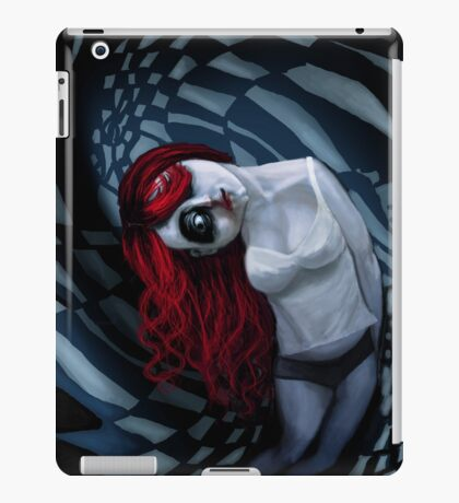 the dark side of my mind hurts iPad Case/Skin