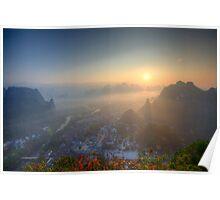XingPing Sunrise Poster