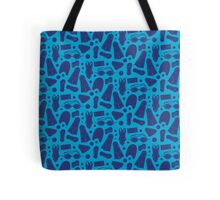 Just Keep Swimming Pattern Tote Bag