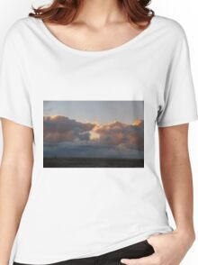 Sunset over the lake Women's Relaxed Fit T-Shirt