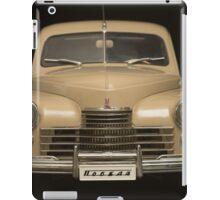 retro car front view  iPad Case/Skin