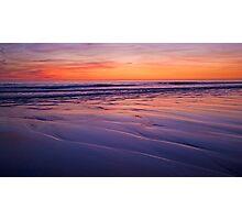 november sunset Photographic Print