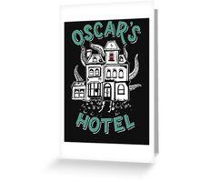 Oscars Hotel  Greeting Card