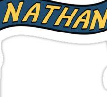 nathan w robots Sticker