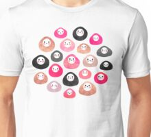 A bunch of happy blobs Unisex T-Shirt