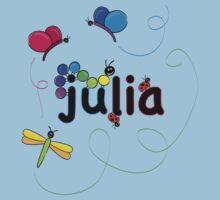julia w bugs by sabrina card